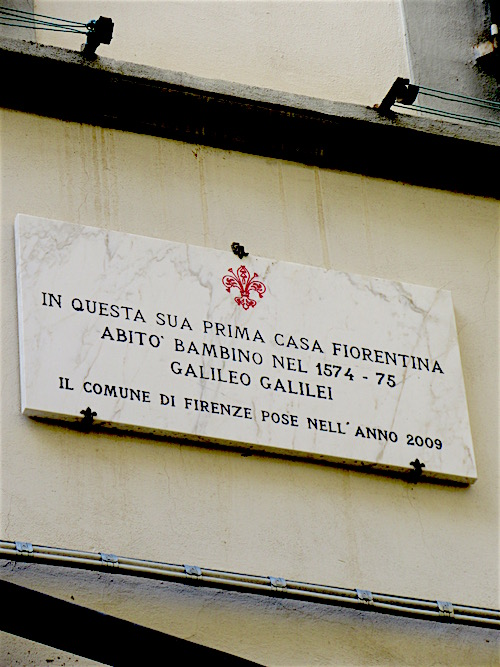 Galileo's First Home