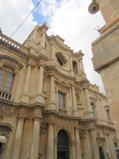 Chiesa di San Carlo al Corso, Noto, Sicily