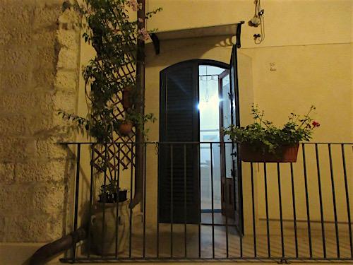 Nightfall at Home, Scicli