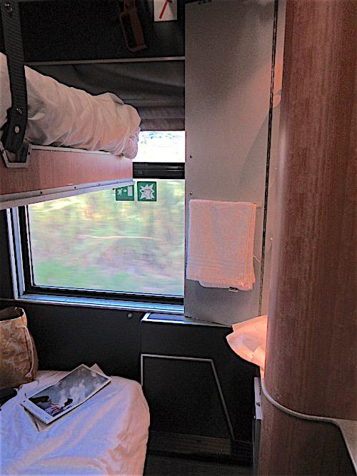 Night Train Cabin