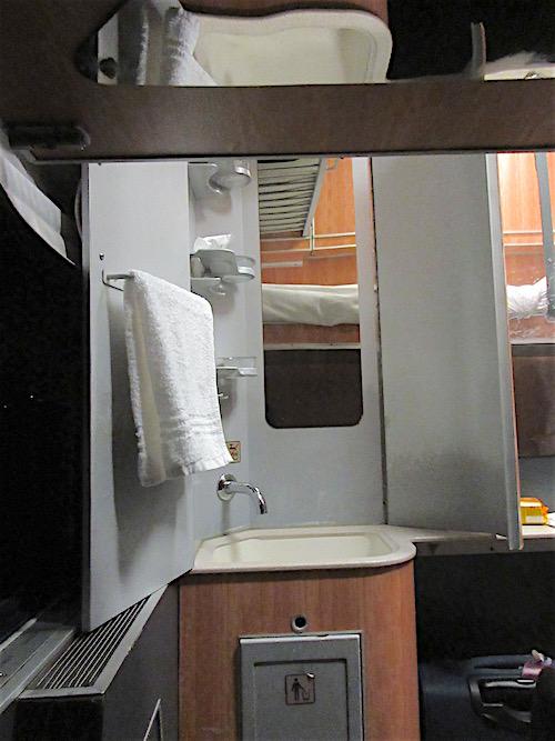Sleeping Cabin Sink Set Up