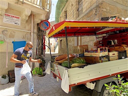 Sicily Veggie Man, Scicli, July 2016