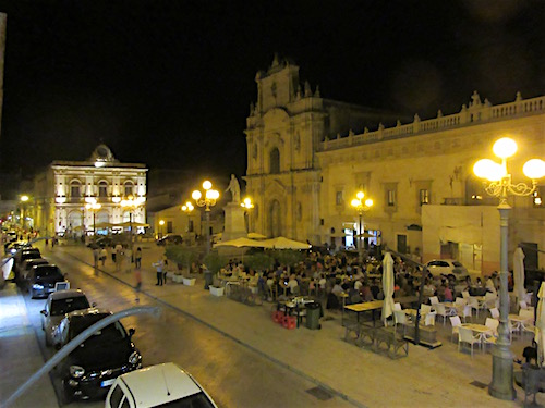 Sicily Small Town Nightlife...